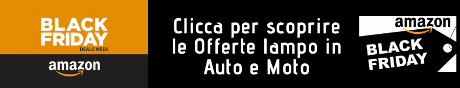 Amazon Black Friday Offerte lampo Auto e Moto